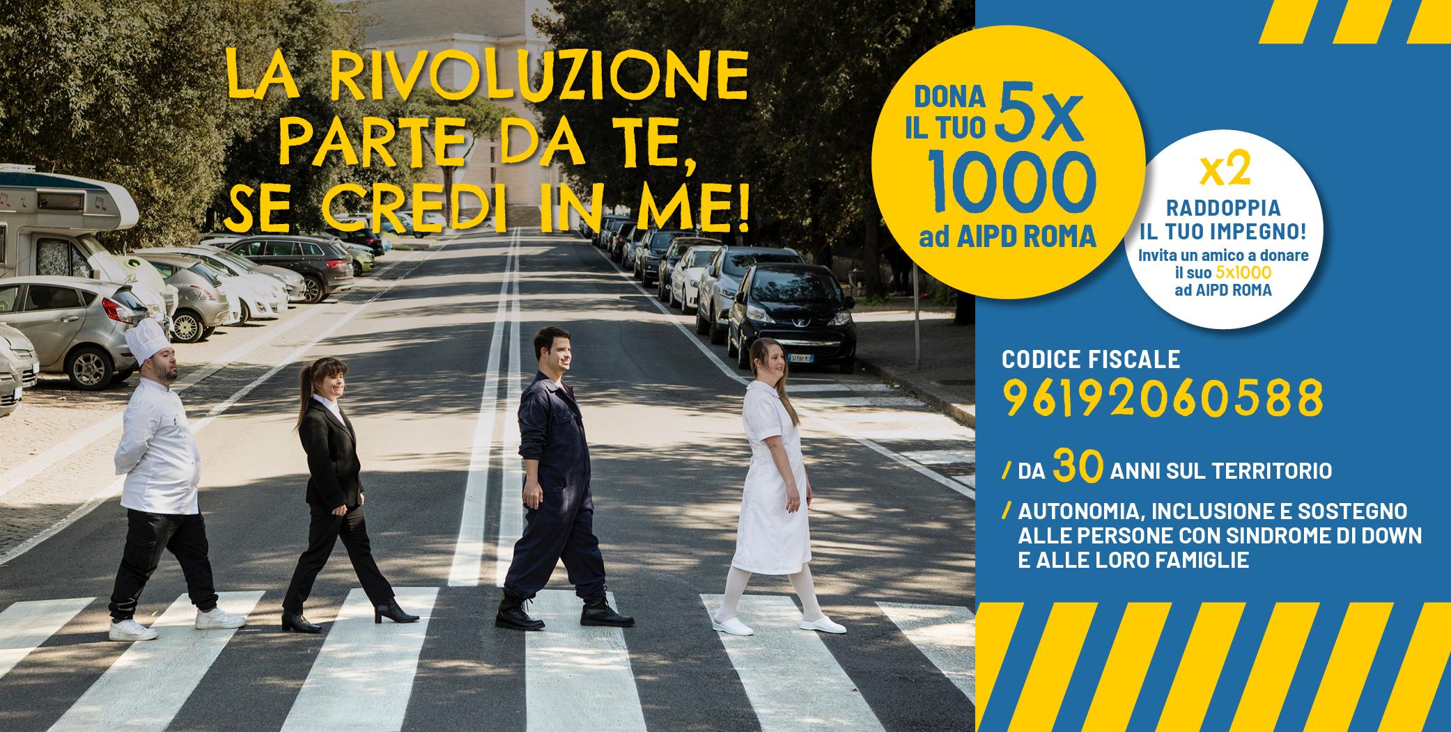5x1000 aipd roma